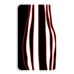 White, Red And Black Lines Memory Card Reader by Valentinaart