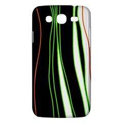 Colorful Lines Harmony Samsung Galaxy Mega 5 8 I9152 Hardshell Case  by Valentinaart