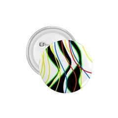 Colorful Lines   Abstract Art 1 75  Buttons by Valentinaart
