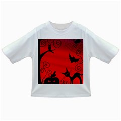 Halloween Landscape Infant/toddler T Shirts by Valentinaart
