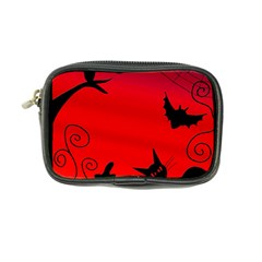 Halloween Landscape Coin Purse by Valentinaart