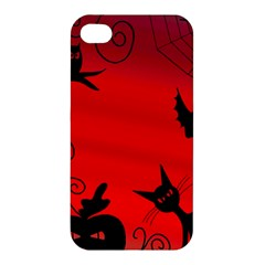 Halloween Landscape Apple Iphone 4/4s Hardshell Case