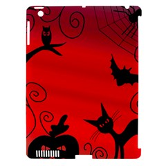 Halloween Landscape Apple Ipad 3/4 Hardshell Case (compatible With Smart Cover) by Valentinaart