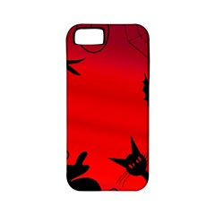 Halloween Landscape Apple Iphone 5 Classic Hardshell Case (pc+silicone) by Valentinaart
