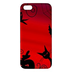 Halloween Landscape Apple Iphone 5 Premium Hardshell Case by Valentinaart