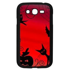 Halloween Landscape Samsung Galaxy Grand Duos I9082 Case (black) by Valentinaart