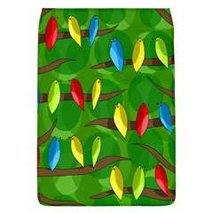 Parrots Flock Flap Covers (l)  by Valentinaart