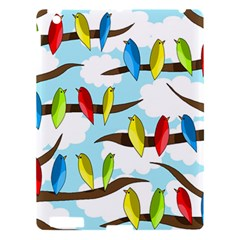 Parrots Flock Apple Ipad 3/4 Hardshell Case