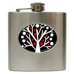 Simply Decorative Tree Hip Flask (6 Oz) by Valentinaart