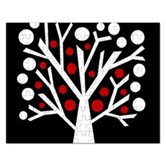 Simply Decorative Tree Rectangular Jigsaw Puzzl by Valentinaart