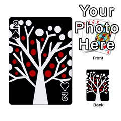 Simply Decorative Tree Playing Cards 54 Designs  by Valentinaart