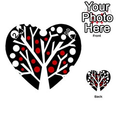 Simply Decorative Tree Playing Cards 54 (heart)