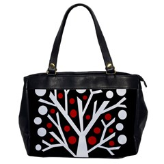 Simply Decorative Tree Office Handbags by Valentinaart