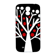 Simply Decorative Tree Samsung Galaxy S4 I9500/i9505  Hardshell Back Case by Valentinaart