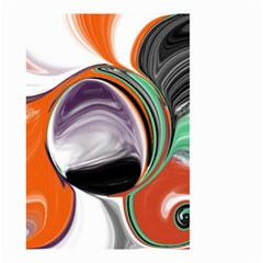 Abstract Orb Small Garden Flag (two Sides) by digitaldivadesigns