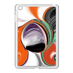Abstract Orb Apple Ipad Mini Case (white) by digitaldivadesigns