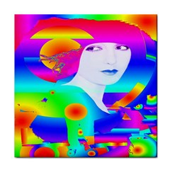 Abstract Color Dream Face Towel by icarusismartdesigns