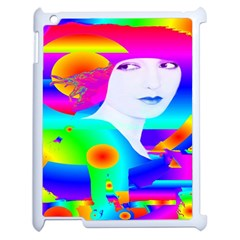 Abstract Color Dream Apple Ipad 2 Case (white) by icarusismartdesigns