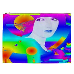 Abstract Color Dream Cosmetic Bag (xxl)