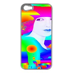 Abstract Color Dream Apple Iphone 5 Case (silver)