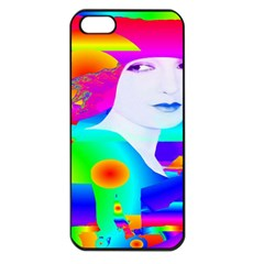 Abstract Color Dream Apple Iphone 5 Seamless Case (black) by icarusismartdesigns
