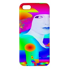 Abstract Color Dream Apple Iphone 5 Premium Hardshell Case by icarusismartdesigns