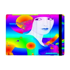 Abstract Color Dream Ipad Mini 2 Flip Cases by icarusismartdesigns