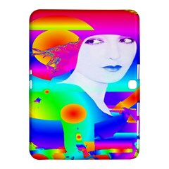 Abstract Color Dream Samsung Galaxy Tab 4 (10 1 ) Hardshell Case  by icarusismartdesigns