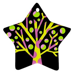 Simple Colorful Tree Ornament (star)  by Valentinaart