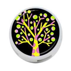 Simple Colorful Tree 4 Port Usb Hub (two Sides)  by Valentinaart
