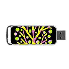 Simple Colorful Tree Portable Usb Flash (two Sides) by Valentinaart