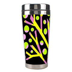 Simple Colorful Tree Stainless Steel Travel Tumblers by Valentinaart