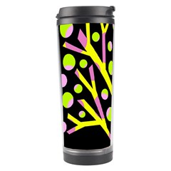 Simple Colorful Tree Travel Tumbler by Valentinaart