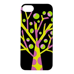 Simple Colorful Tree Apple Iphone 5s/ Se Hardshell Case by Valentinaart