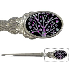 Purple Magical Tree Letter Openers by Valentinaart