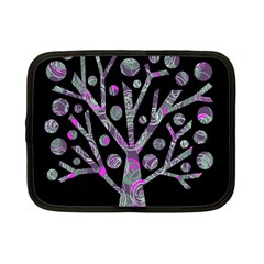 Purple Magical Tree Netbook Case (small)  by Valentinaart