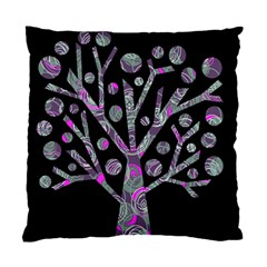 Purple Magical Tree Standard Cushion Case (one Side) by Valentinaart
