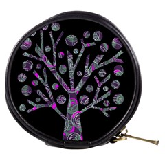 Purple Magical Tree Mini Makeup Bags by Valentinaart