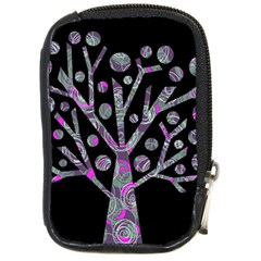Purple Magical Tree Compact Camera Cases by Valentinaart