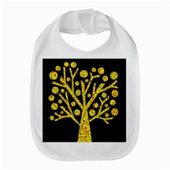 Yellow Magical Tree Bib by Valentinaart