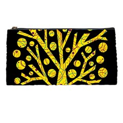 Yellow Magical Tree Pencil Cases