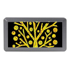 Yellow Magical Tree Memory Card Reader (mini) by Valentinaart