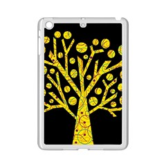 Yellow Magical Tree Ipad Mini 2 Enamel Coated Cases by Valentinaart