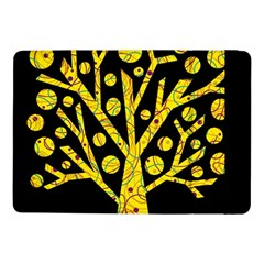 Yellow Magical Tree Samsung Galaxy Tab Pro 10 1  Flip Case by Valentinaart