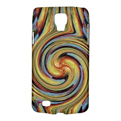 Gold Blue And Red Swirl Pattern Galaxy S4 Active by digitaldivadesigns