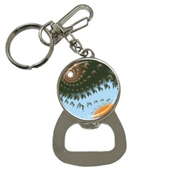 Sun Ray Swirl Design Bottle Opener Key Chains