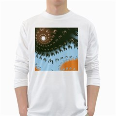 Sunraypil White Long Sleeve T Shirts