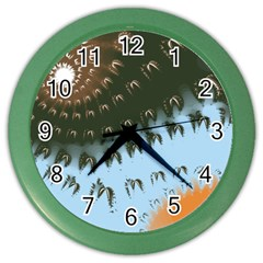 Sunraypil Color Wall Clocks by digitaldivadesigns