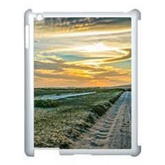 Jericoacoara National Park Dunes Road Apple Ipad 3/4 Case (white) by dflcprints