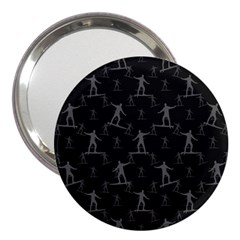 Surfing Motif Pattern 3  Handbag Mirrors by dflcprints